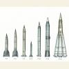 Первые отечественные баллистические ракеты.