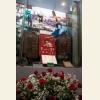 Цветы у витрины, посвященной А.И. Покрышкину