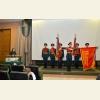 Представление Боевых знамен воинских частей и соединений, удостоенных ордена Александра Невского в годы Великой Отечественной войны