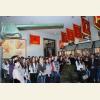 В зале Сталинградской битвы