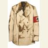 Китель из комплекта обмундирования рейхсканцлера А. Гитлера. Из шерсти белого цвета, двубортный, застегивается на три пуговицы. Взят в Берлине, в имперской канцелярии в 1945г. Поступил в ЦМВС с Выставки трофейного вооружения.