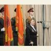 Выступает Майя Ивановна Панфилова - дочь Героя Советского Союза  генерал-майора  И.В. Панфилова.