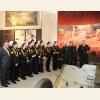 Участники урока мужества в зале Сталинградской битвы